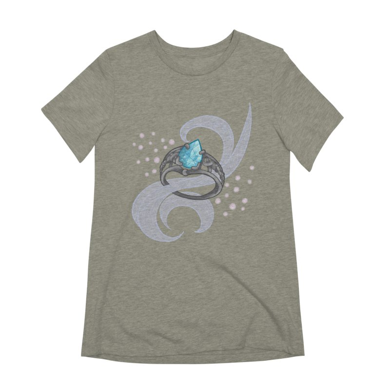 Denna's Ring Women's T-Shirt by JordanaHeney Illustration