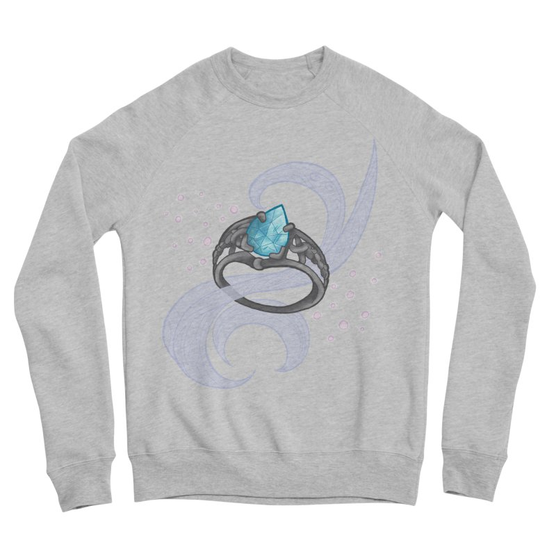 Denna's Ring Women's Sponge Fleece Sweatshirt by JordanaHeney Illustration