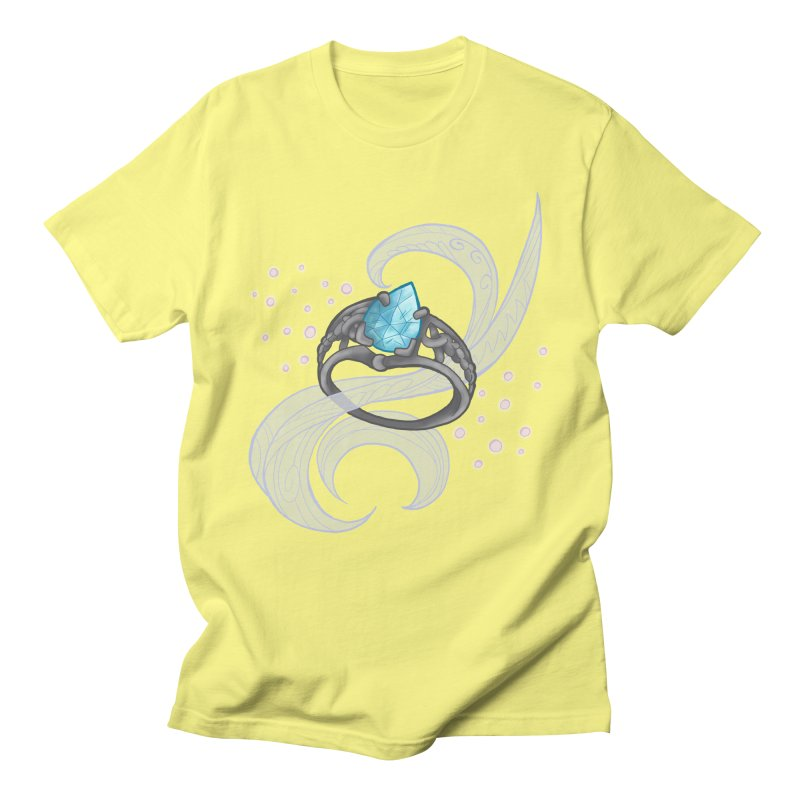 Denna's Ring Men's Regular T-Shirt by JordanaHeney Illustration