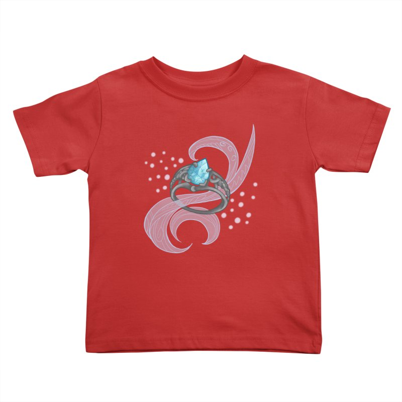 Denna's Ring Kids Toddler T-Shirt by JordanaHeney Illustration
