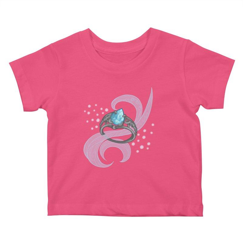 Denna's Ring Kids Baby T-Shirt by JordanaHeney Illustration