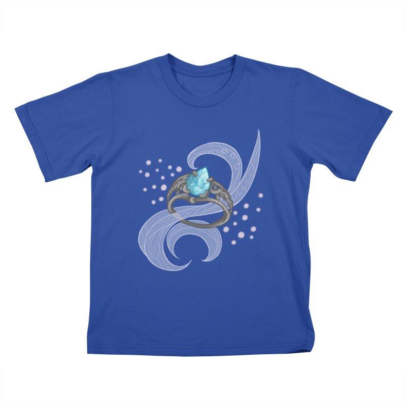 Denna's Ring Kids T-Shirt by JordanaHeney Illustration