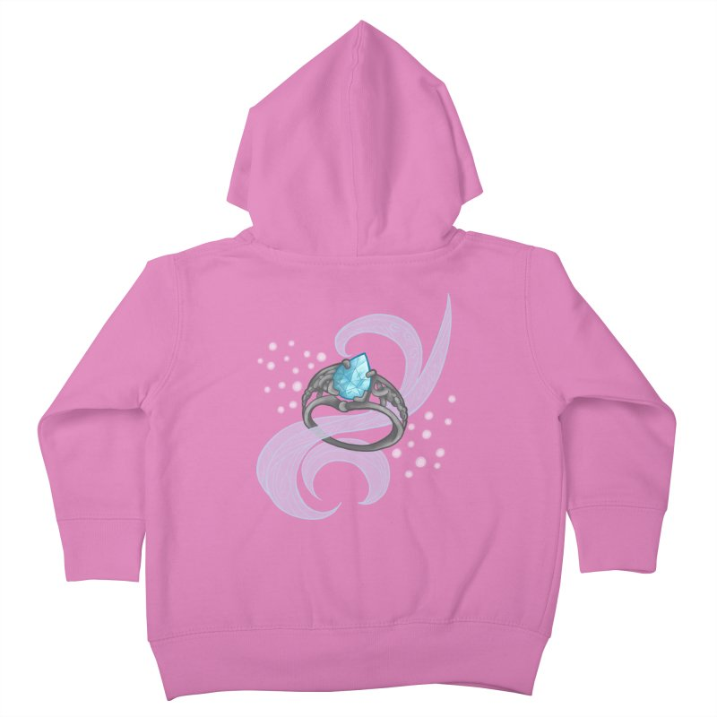 Denna's Ring Kids Toddler Zip-Up Hoody by JordanaHeney Illustration
