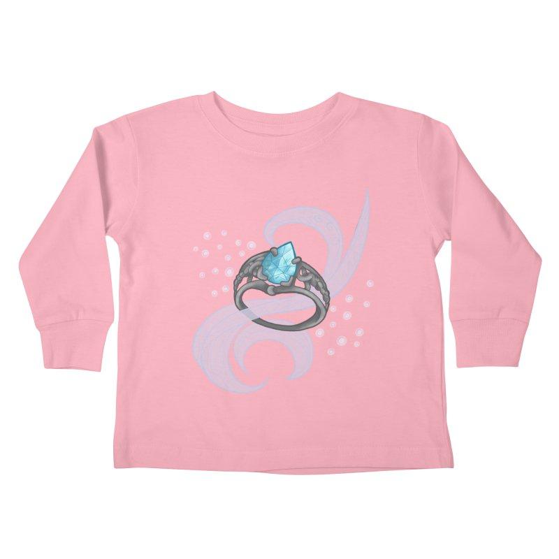 Denna's Ring Kids Toddler Longsleeve T-Shirt by JordanaHeney Illustration