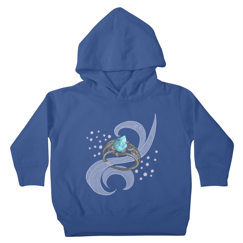 Denna's Ring Kids Toddler Pullover Hoody by JordanaHeney Illustration