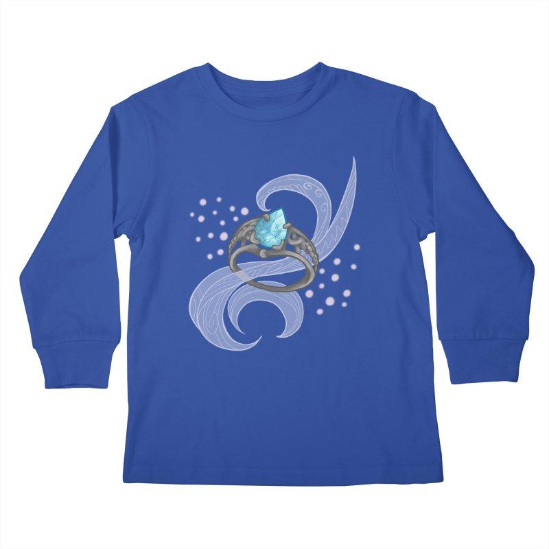 Denna's Ring Kids Longsleeve T-Shirt by JordanaHeney Illustration