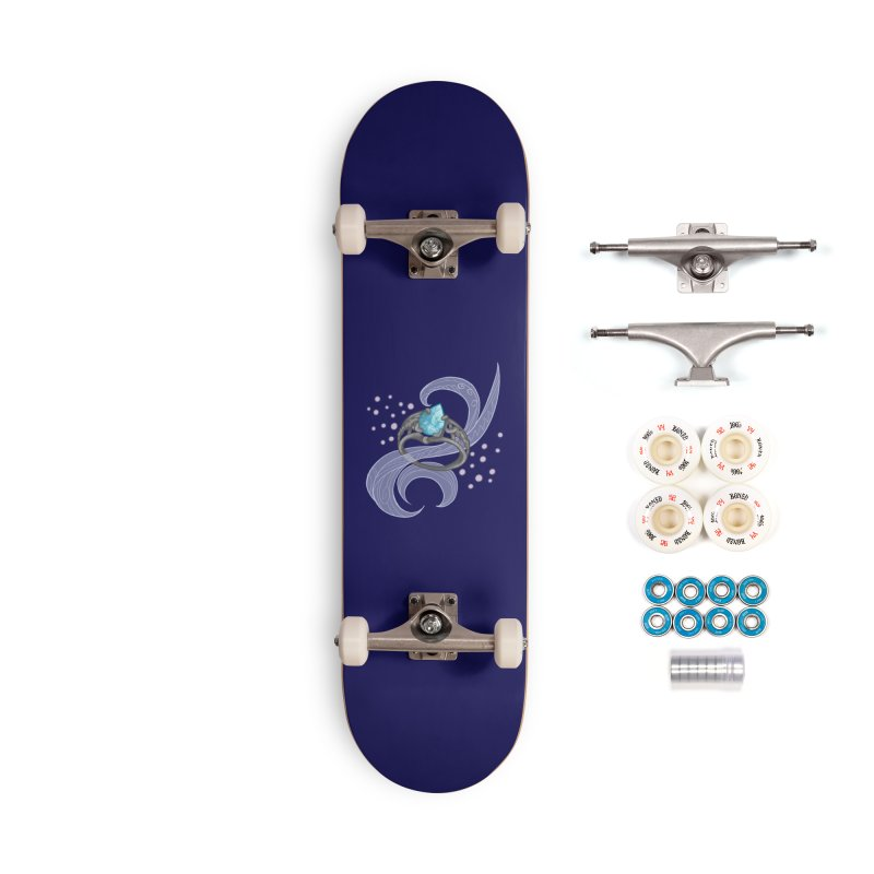 Denna's Ring Accessories Complete - Premium Skateboard by JordanaHeney Illustration