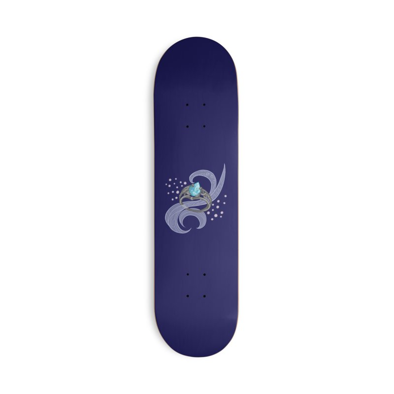 Denna's Ring Accessories Deck Only Skateboard by JordanaHeney Illustration