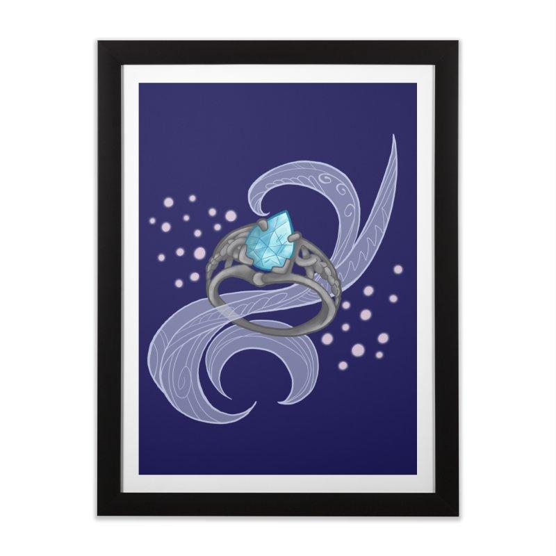 Denna's Ring Home Framed Fine Art Print by JordanaHeney Illustration