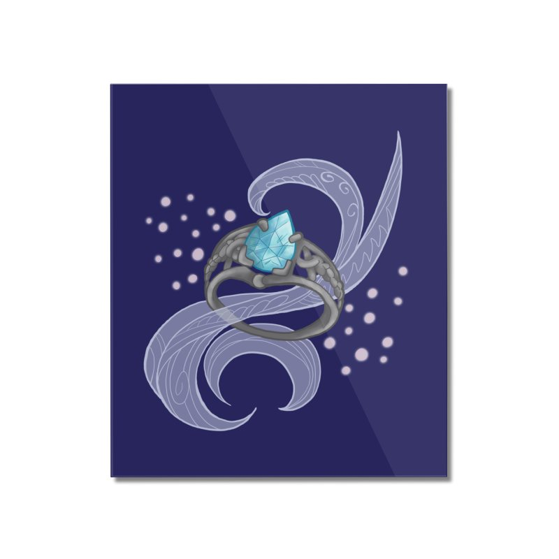 Denna's Ring Home Mounted Acrylic Print by JordanaHeney Illustration