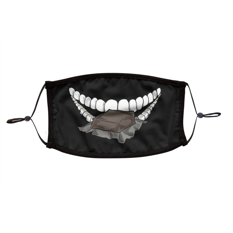 Sweet Eater Accessories Face Mask by JordanaHeney Illustration