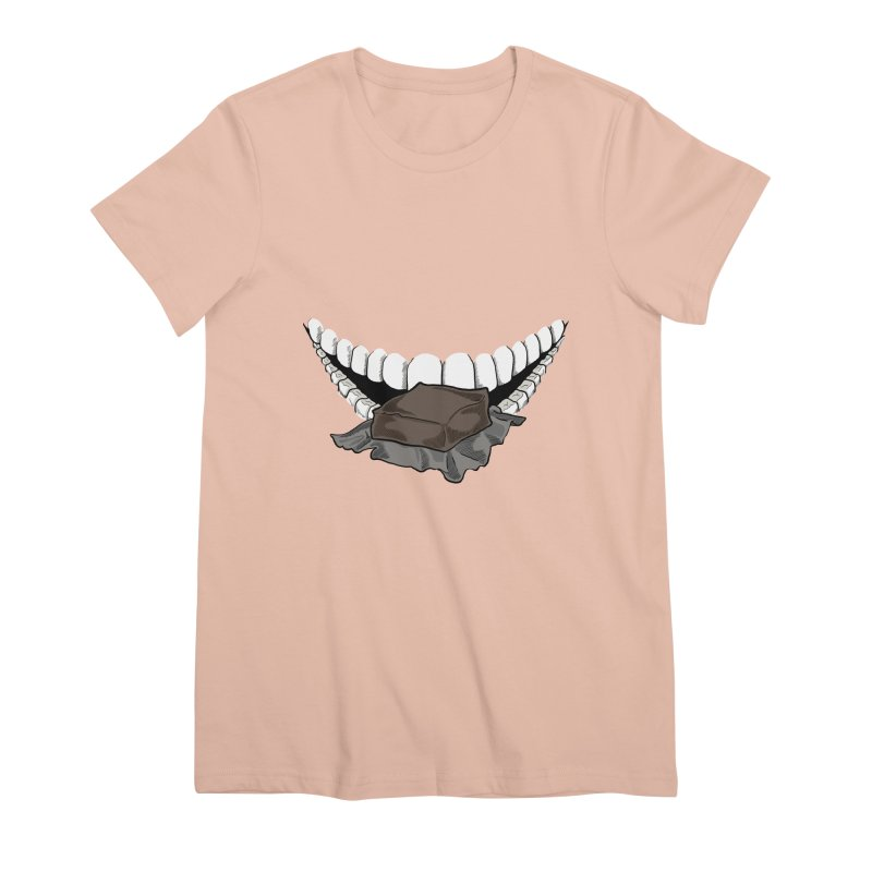 Sweet Eater Women's Premium T-Shirt by JordanaHeney Illustration
