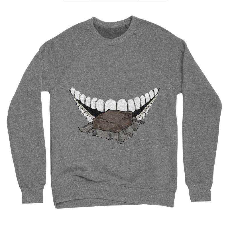 Sweet Eater Men's Sponge Fleece Sweatshirt by JordanaHeney Illustration