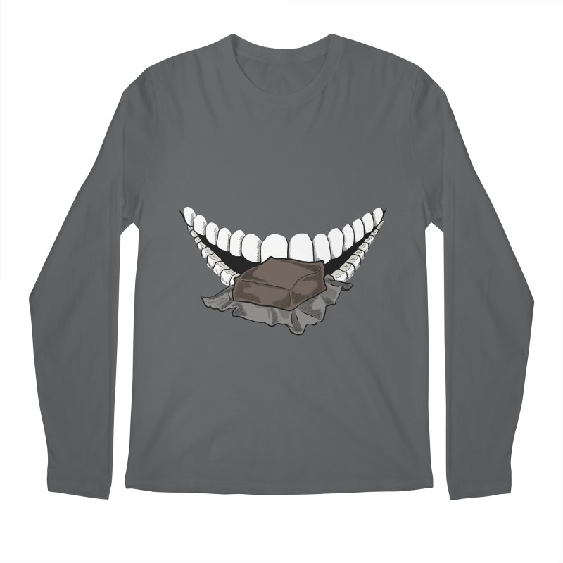 Sweet Eater Men's Longsleeve T-Shirt by JordanaHeney Illustration