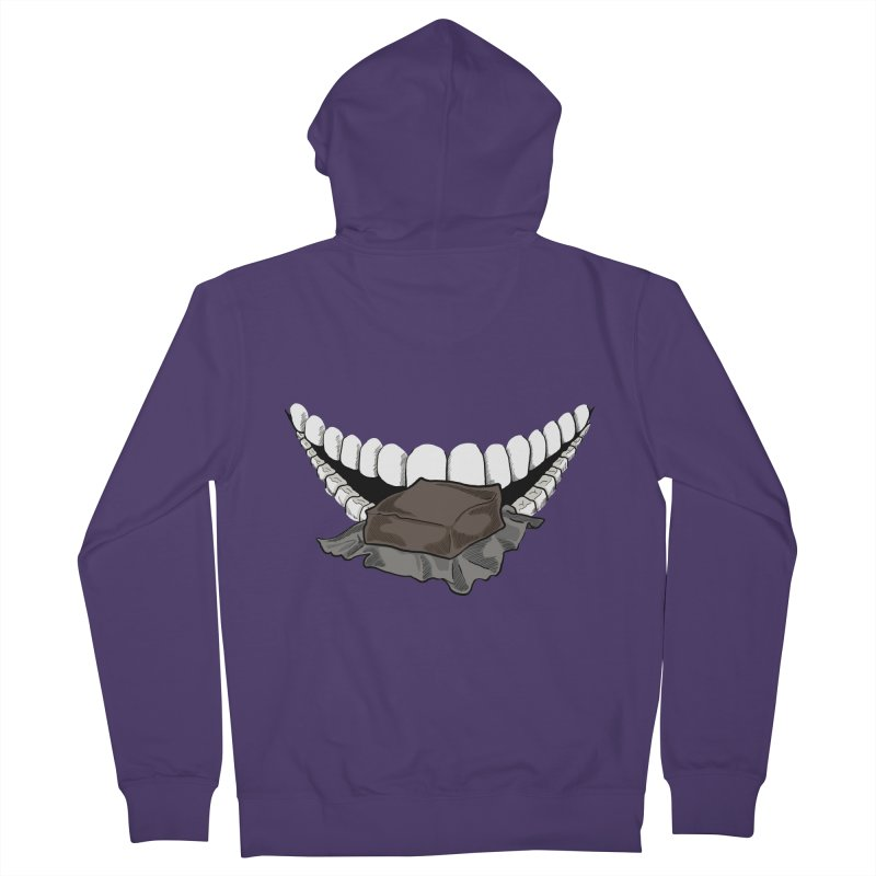 Sweet Eater Women's French Terry Zip-Up Hoody by JordanaHeney Illustration