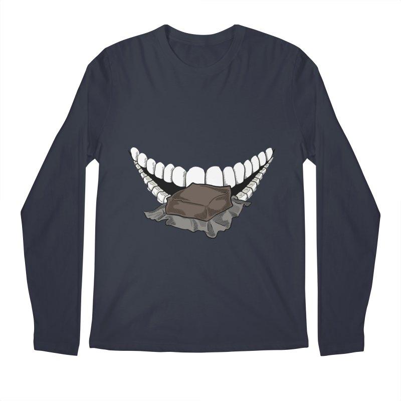 Sweet Eater Men's Regular Longsleeve T-Shirt by JordanaHeney Illustration