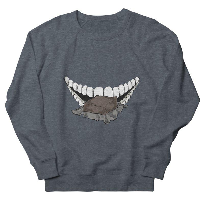 Sweet Eater Women's French Terry Sweatshirt by JordanaHeney Illustration