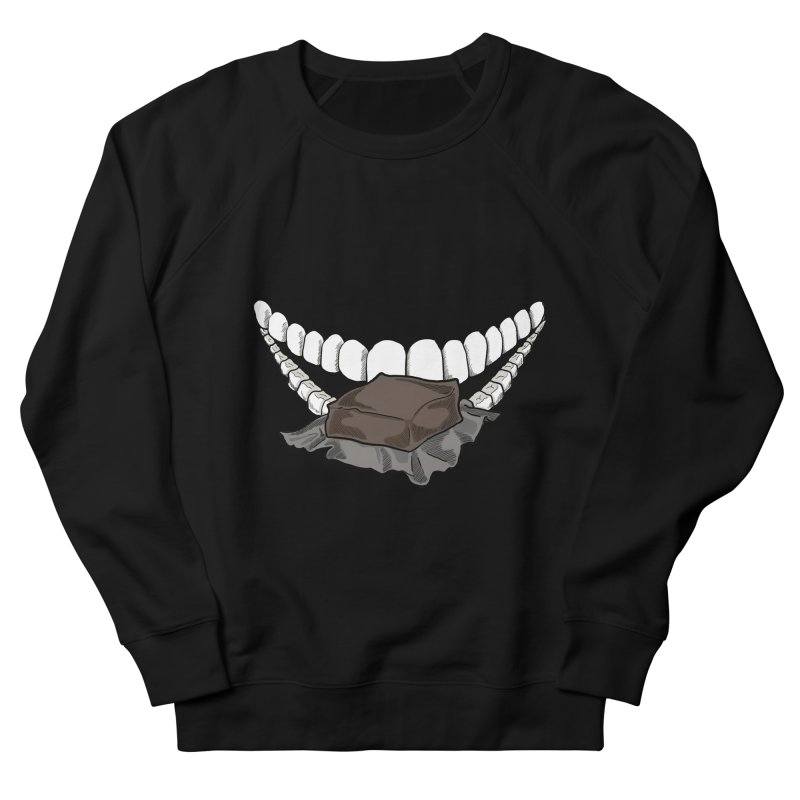 Sweet Eater Women's French Terry Sweatshirt by JordanaHeney Illustration