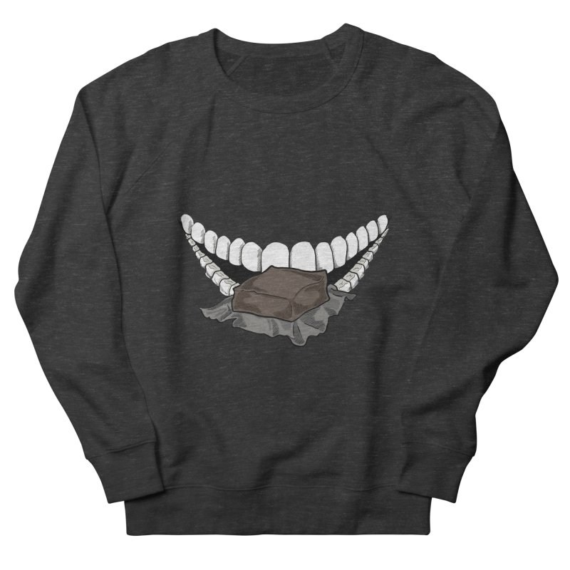 Sweet Eater Men's French Terry Sweatshirt by JordanaHeney Illustration
