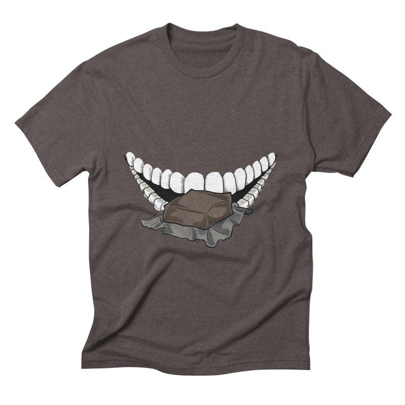 Sweet Eater Men's Triblend T-Shirt by JordanaHeney Illustration