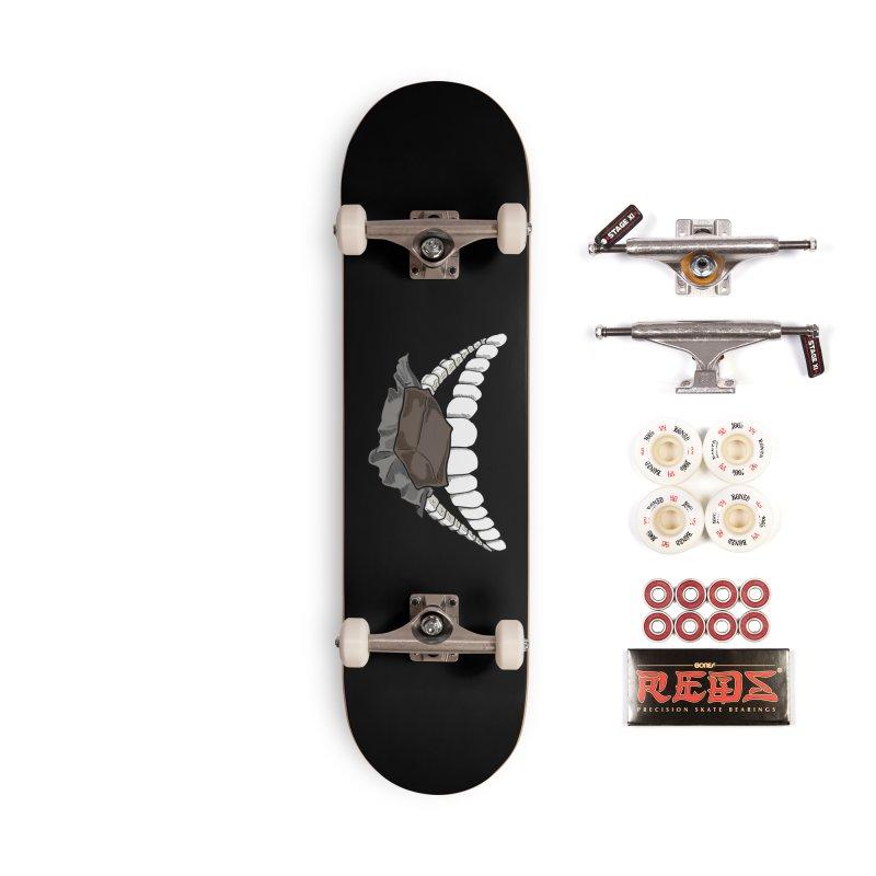 Sweet Eater Accessories Complete - Pro Skateboard by JordanaHeney Illustration