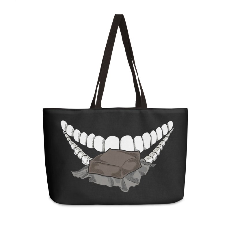 Sweet Eater Accessories Weekender Bag Bag by JordanaHeney Illustration