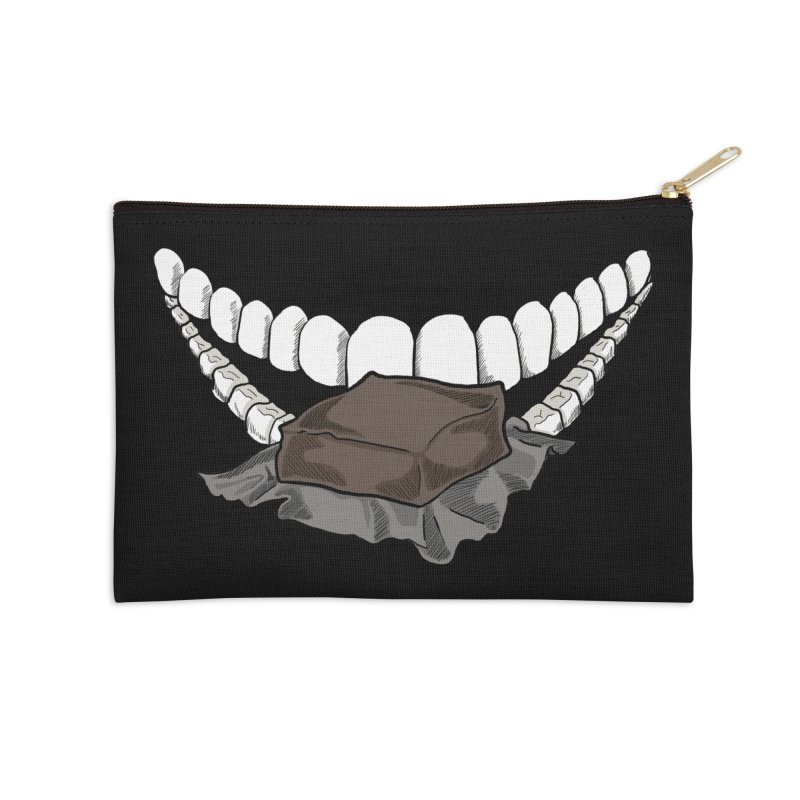 Sweet Eater Accessories Zip Pouch by JordanaHeney Illustration