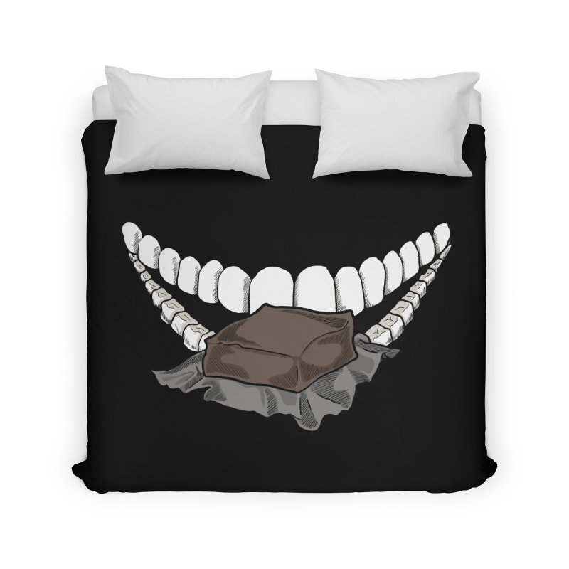 Sweet Eater Home Duvet by JordanaHeney Illustration