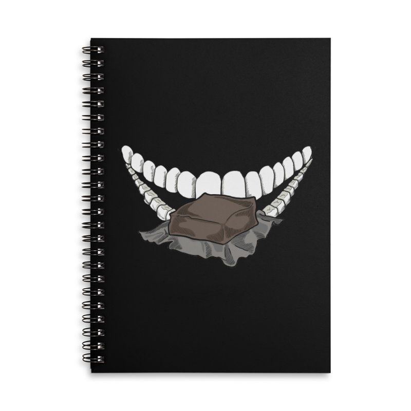 Sweet Eater Accessories Lined Spiral Notebook by JordanaHeney Illustration