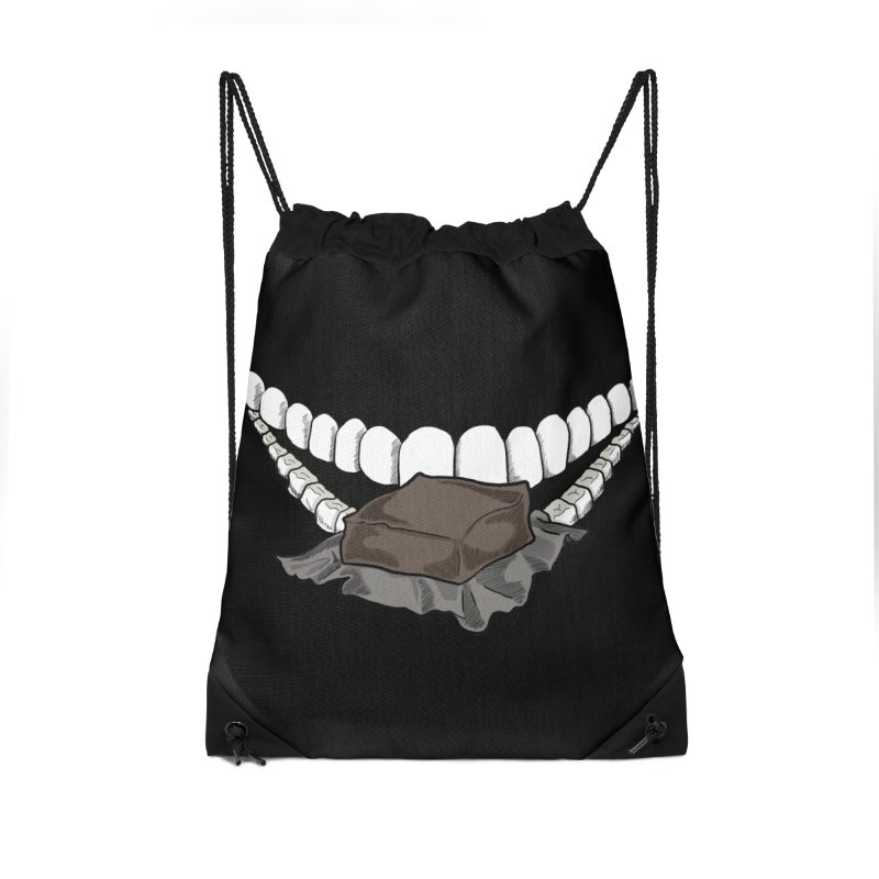 Sweet Eater Accessories Drawstring Bag Bag by JordanaHeney Illustration