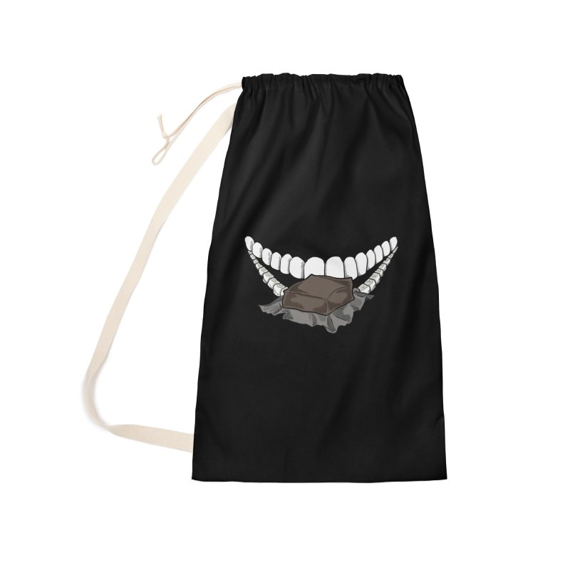 Sweet Eater Accessories Laundry Bag Bag by JordanaHeney Illustration