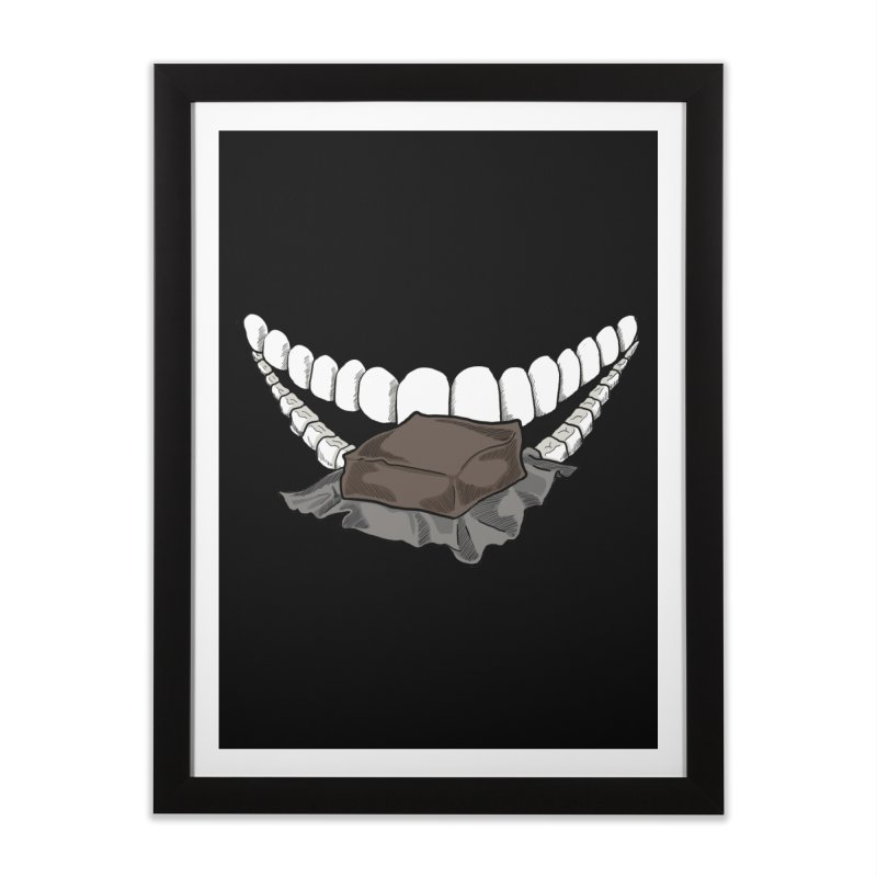 Sweet Eater Home Framed Fine Art Print by JordanaHeney Illustration