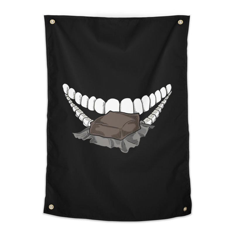Sweet Eater Home Tapestry by JordanaHeney Illustration