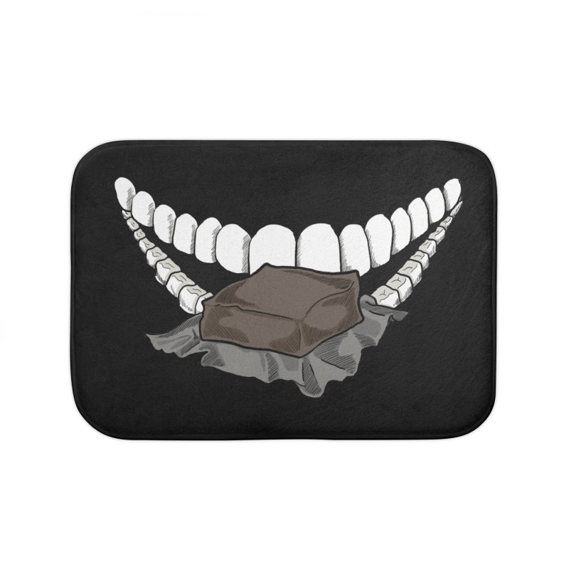 Sweet Eater Home Bath Mat by JordanaHeney Illustration