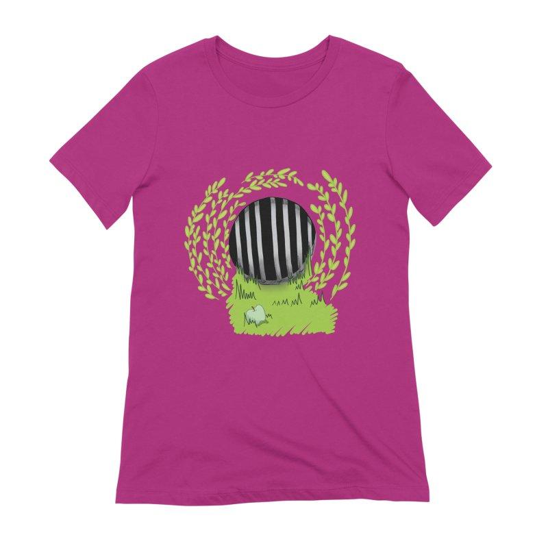 The Gate Women's Extra Soft T-Shirt by JordanaHeney Illustration