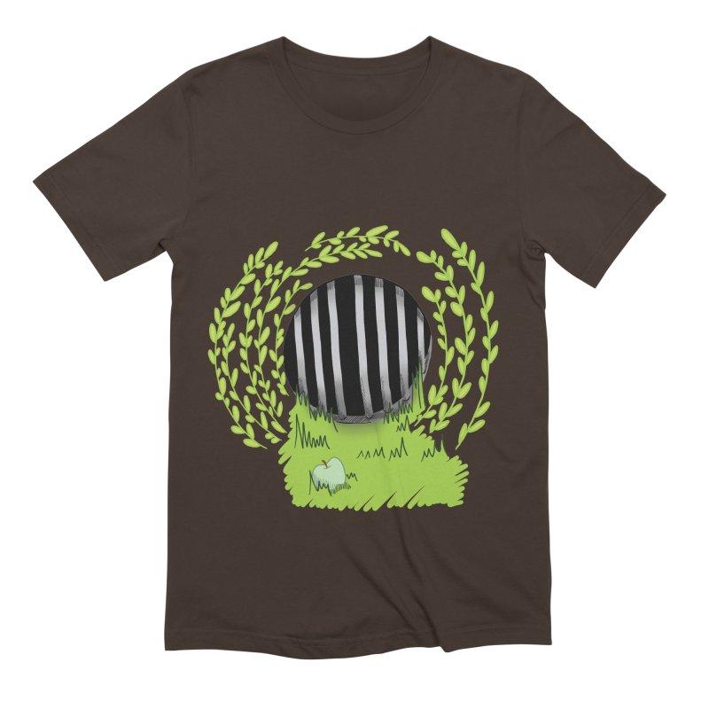 The Gate Men's Extra Soft T-Shirt by JordanaHeney Illustration