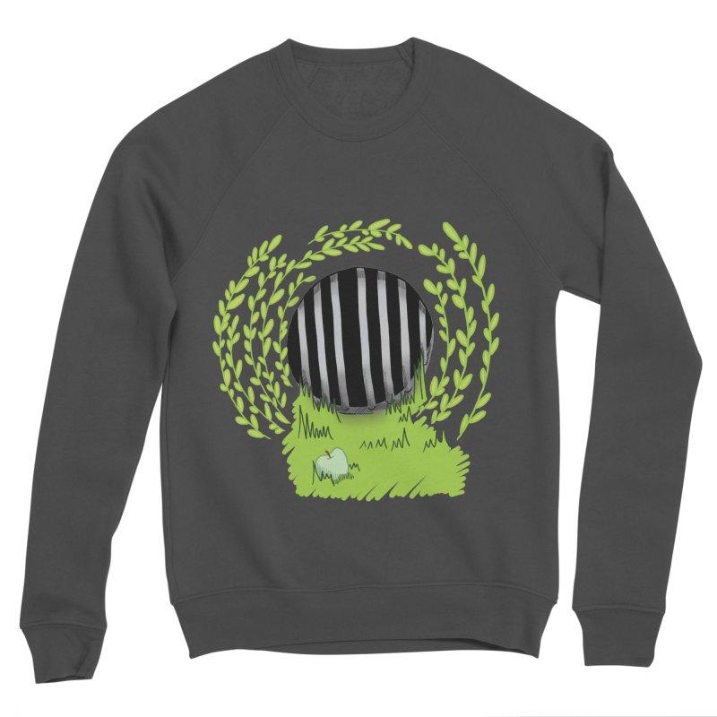 The Gate Men's Sponge Fleece Sweatshirt by JordanaHeney Illustration