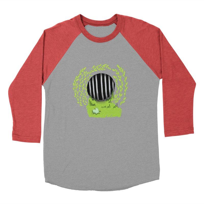 The Gate Women's Baseball Triblend Longsleeve T-Shirt by JordanaHeney Illustration
