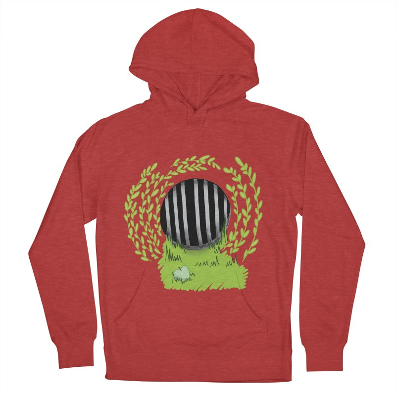 The Gate Men's French Terry Pullover Hoody by JordanaHeney Illustration