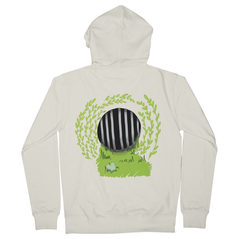 The Gate Women's French Terry Zip-Up Hoody by JordanaHeney Illustration