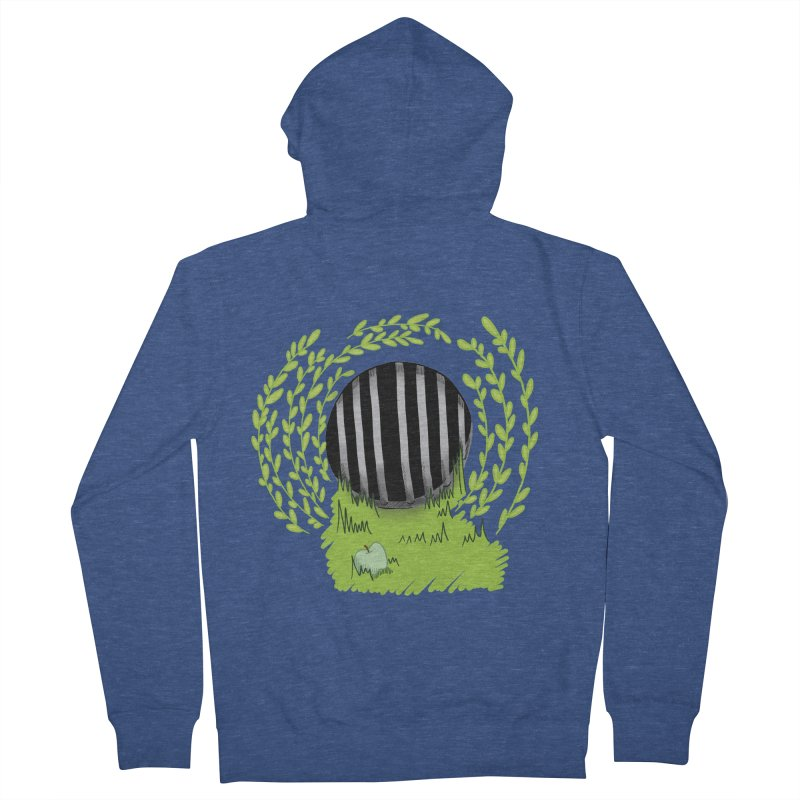 The Gate Men's French Terry Zip-Up Hoody by JordanaHeney Illustration