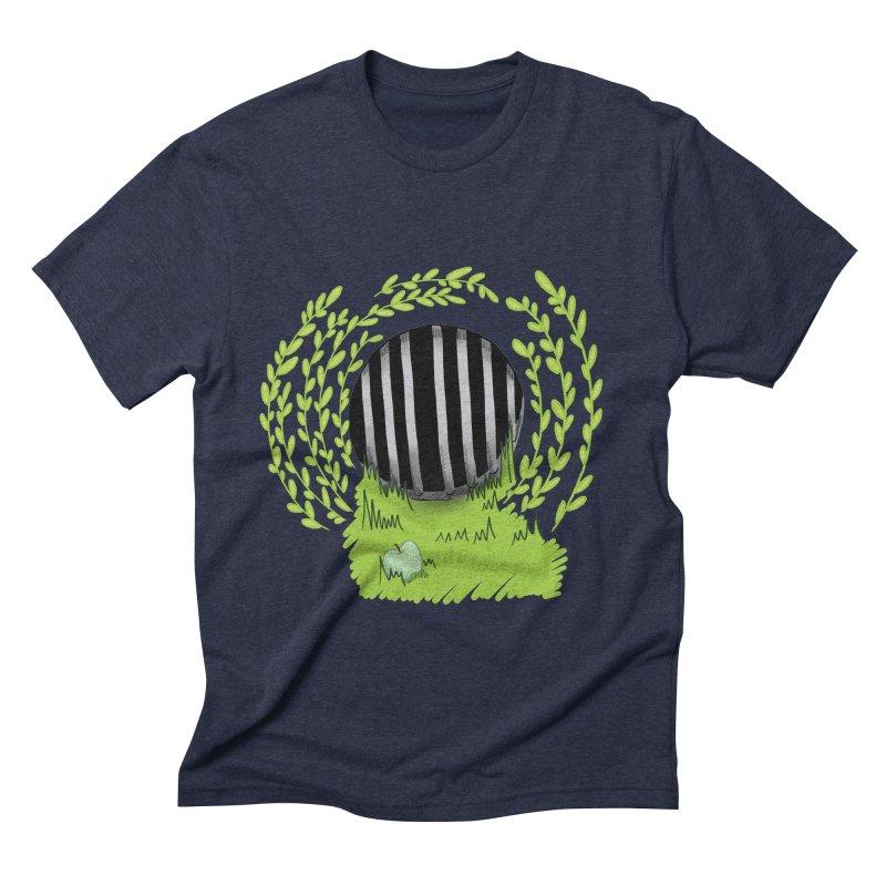 The Gate Men's Triblend T-Shirt by JordanaHeney Illustration