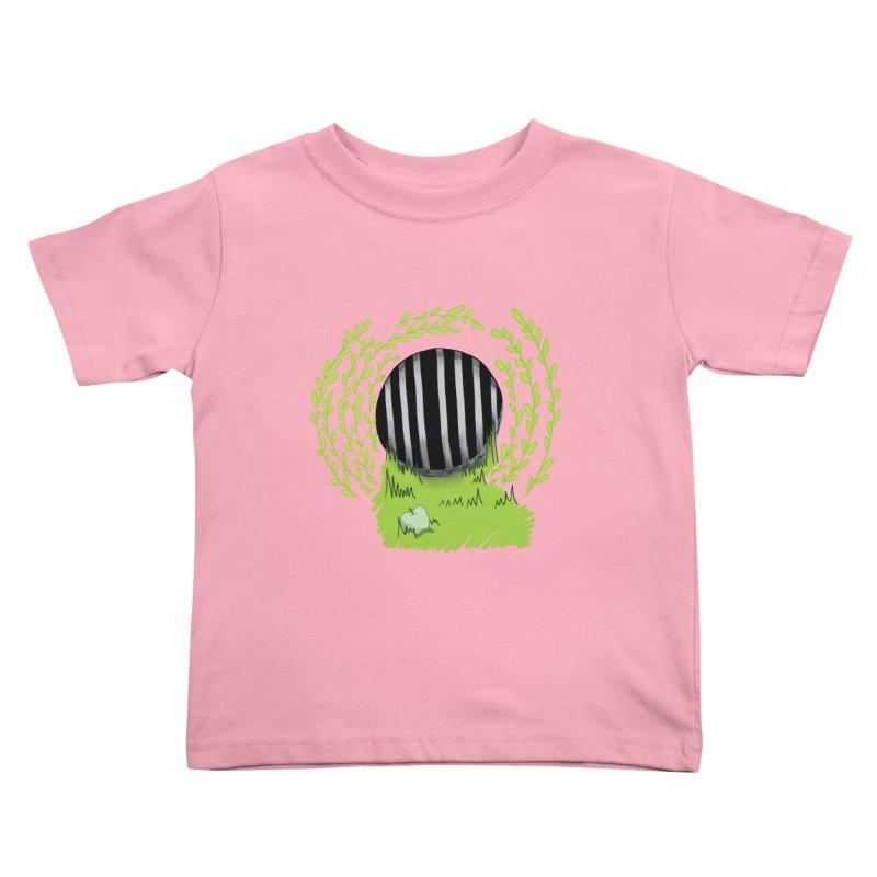 The Gate Kids Toddler T-Shirt by JordanaHeney Illustration