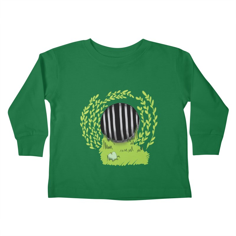 The Gate Kids Toddler Longsleeve T-Shirt by JordanaHeney Illustration