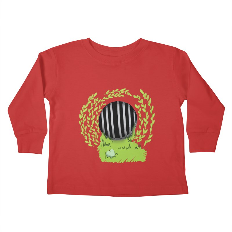 The Gate Kids Toddler Longsleeve T-Shirt by JordanaHeney Illustration