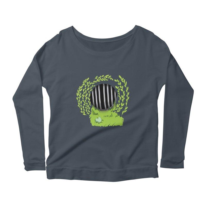 The Gate Women's Scoop Neck Longsleeve T-Shirt by JordanaHeney Illustration
