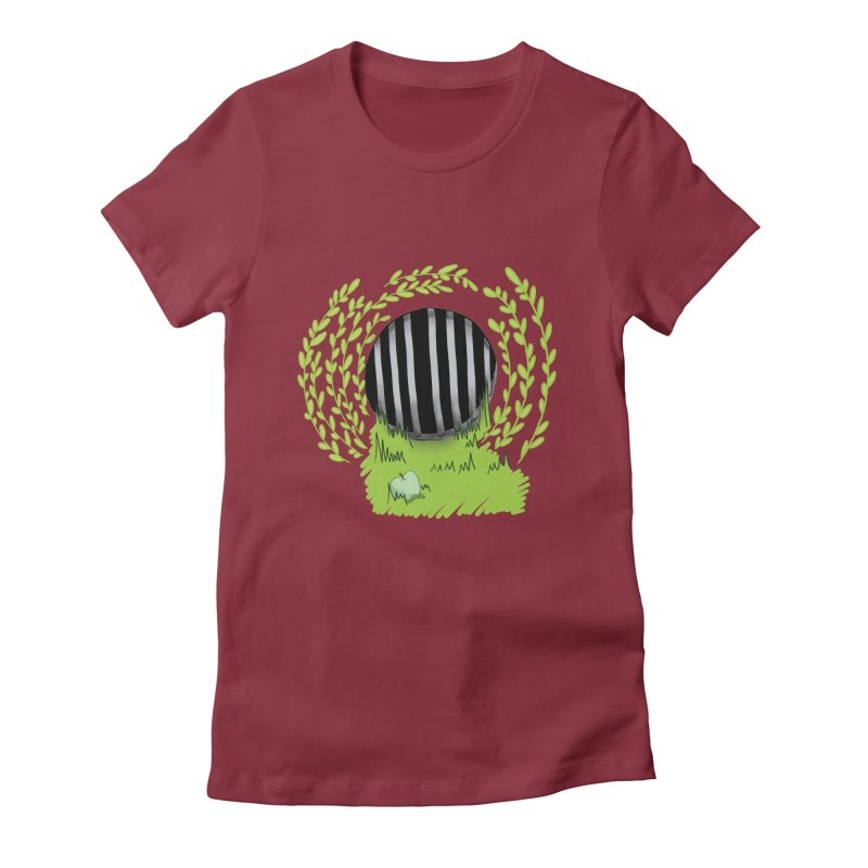 The Gate Women's Fitted T-Shirt by JordanaHeney Illustration