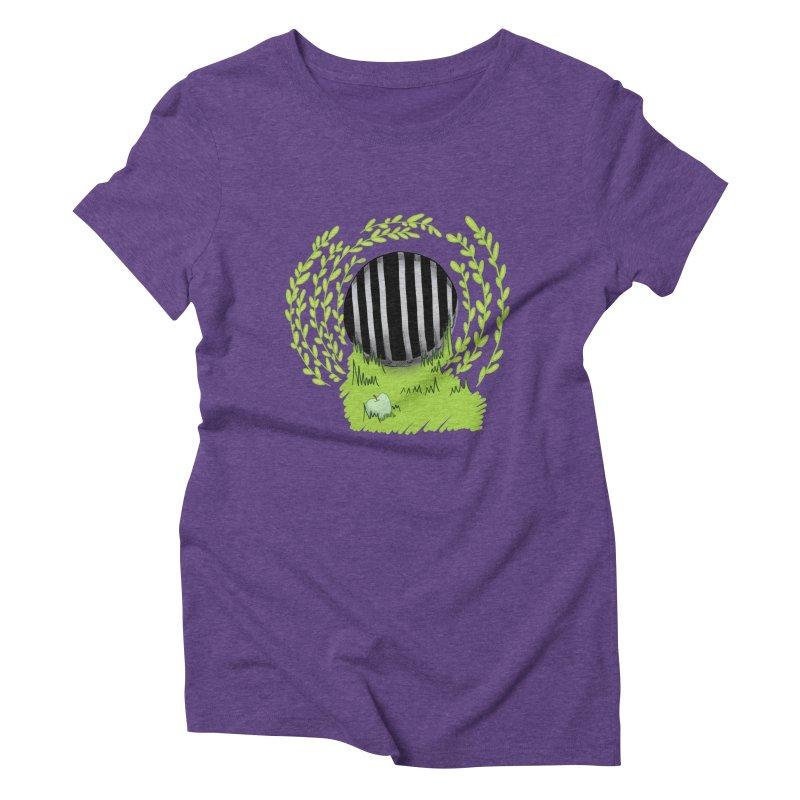 The Gate Women's Triblend T-Shirt by JordanaHeney Illustration