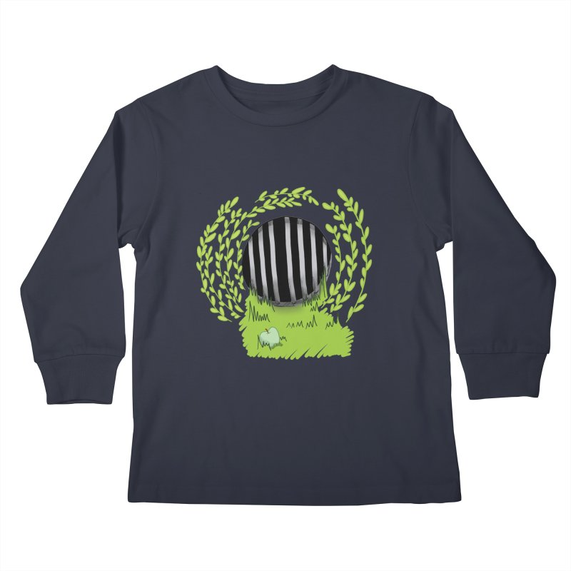 The Gate Kids Longsleeve T-Shirt by JordanaHeney Illustration