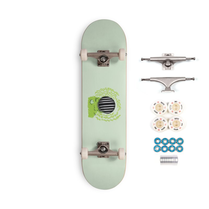 The Gate Accessories Complete - Premium Skateboard by JordanaHeney Illustration